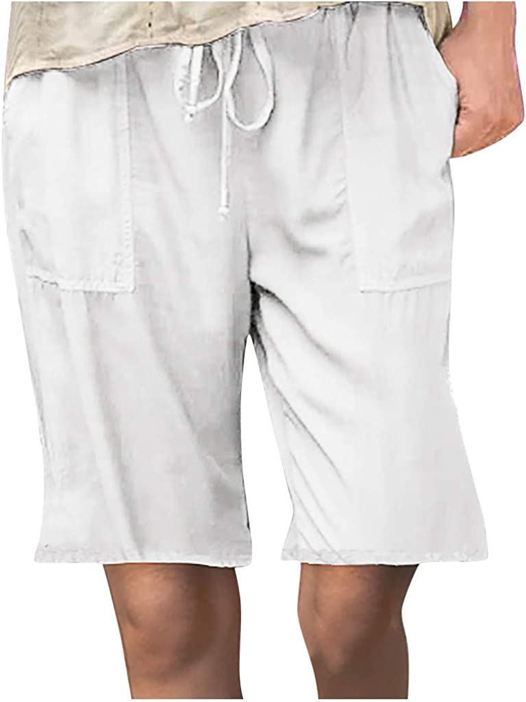 aihihe Bermuda Shorts for Topics Max 87% OFF on TV Women Plus Size Sho Summer Long Casual