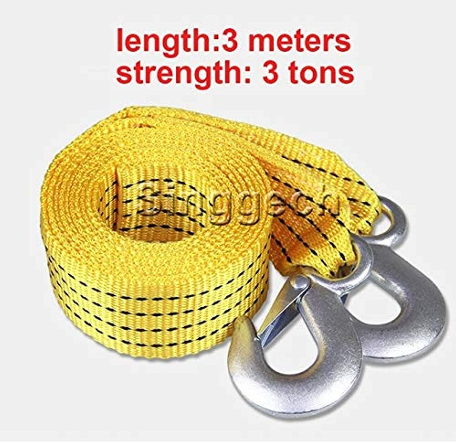 1X Car Towing Rope 3 Meters 3 Tons for Nissan Qashqai XTrail Juke TIIDA Note Almera March for Mazda 3 6 2 CX5 CX5 CX7  (color Name  3 Meters)