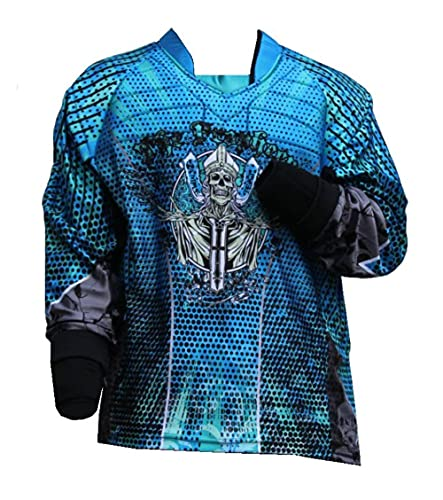 Paintball Jersey Priest Blau Gotcha Shirt Bekleidung Magfed (L)