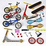 'N/A' Mini Bike Finger Scooter Skating Board Children Educational Toys Metal Bicycle Model Gift for Boys Girls