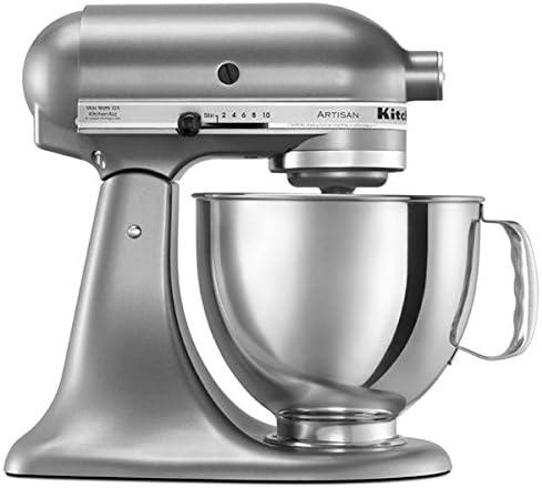 KitchenAid Stand Mixer Tilt Head 5-Quart RRK150CZ (Renewed) champagne Gold