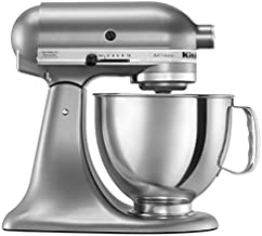 KitchenAid 5 Qt. Artisan Series Stand Mixer Contential Silver RRK150CU (Renewed)