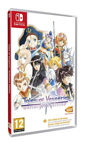 Tales Of Vesperia - Definitive Edition (Code In The Box) - Nintendo Switch [Edizione: Spagna]