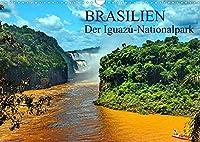 Brasilien. Der Iguazú-Nationalpark (Wandkalender 2022 DIN A3 quer): Iguazú Wasserfaelle - Das Grosse Naturwunder mitten im Dschungel von Suedamerika. (Monatskalender, 14 Seiten )