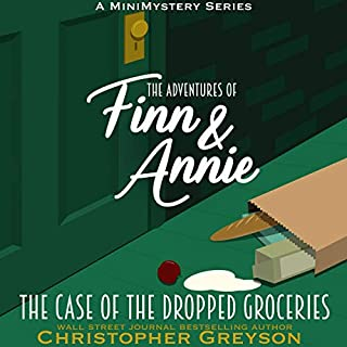 The Case of the Dropped Groceries: A Mini Mystery Series      The Adventures of Finn and Annie, Book 2              By:                                                                                                                                 Christopher Greyson                               Narrated by:                                                                                                                                 Andrew Tell                      Length: 36 mins     Not rated yet     Overall 0.0