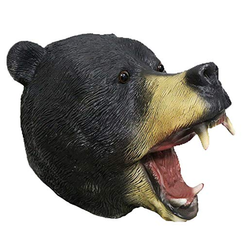 American Bear Mask Latex Animal Bear Mask Halloween Costume Forest Fancy Props Masks