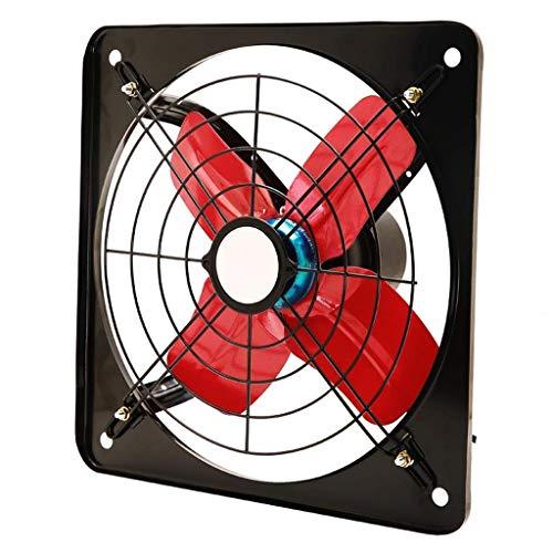 YGB Ventilador de Pedestal, Ventilador de ventilación, Controlador, Garaje, ático, para baño de Cocina, Ventilador de Ventana para el hogar