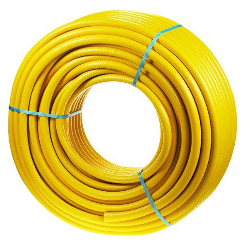 Kingfisher 77575m Pro Gold verstärkt Gartenschlauch–Gelb