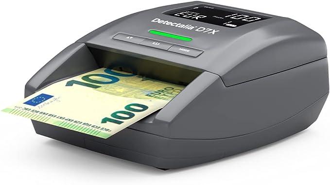 1362 opinioni per Detectalia D7X- Rilevatore di banconote false EUR, GBP, CHF, PLN, CZK e SEK con