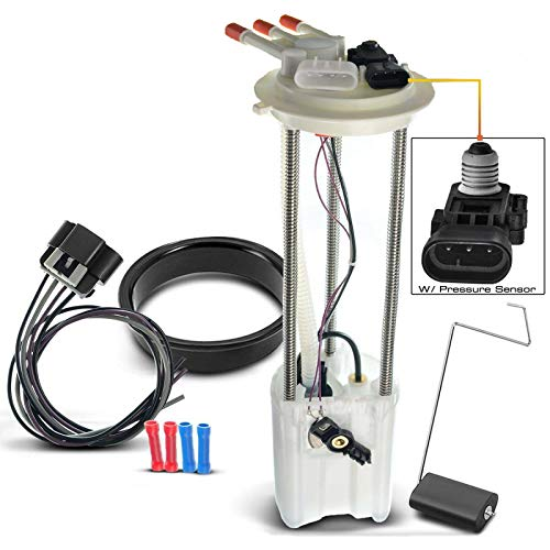 Electric Fuel Pump with Pressure Sensor for Chevrolet Silverado 1500 2500 3500 1999-2004 GMC Sierra
