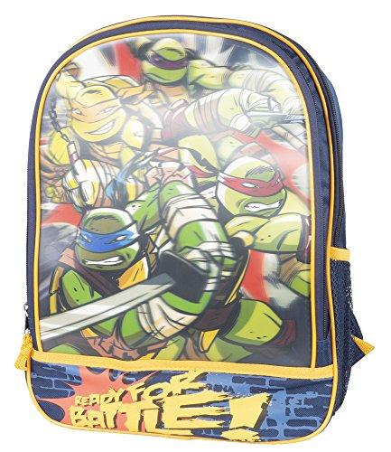 Teenage Mutant Ninja Turtles 3-D Backpack Ready for Battle
