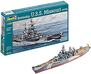 Revell Battleship U.S.S. Missouri WWII Ship Plastic Model Kit