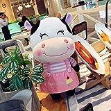 Couple modèles vache hommes poupée de poupée mignonne d'oreiller de jouets en peluche et les femmes oreiller poupée oreiller paire cadeau de mariage 46cm C gros ours peluche XINRUIBO