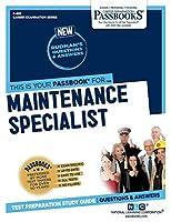 Maintenance Specialist (Career Examination)