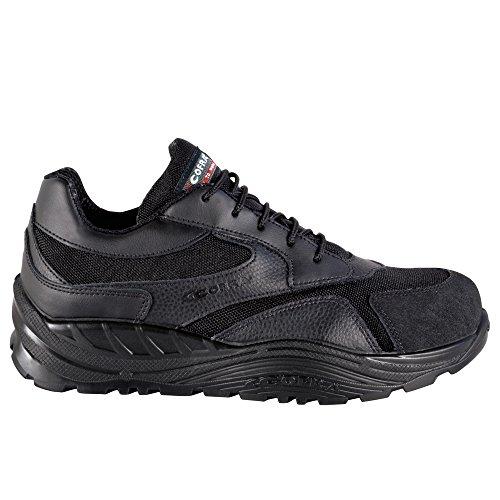 Cofra, 40-55050000-40, Scarpe di sicurezza S3 CI SRC ammortizzare Maxi Comfort 55050-000 scarpe di cuoio, nero, taglia 40