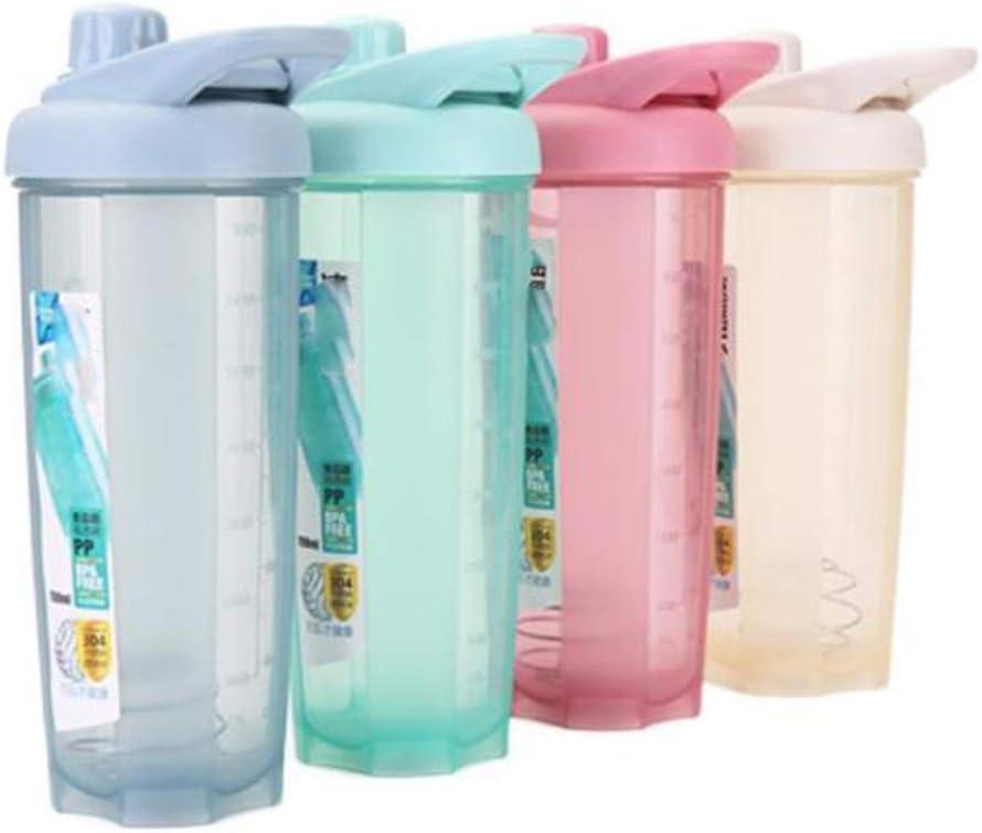 ZY Batido Deportivo Vaso de proteína de plástico Material de ...