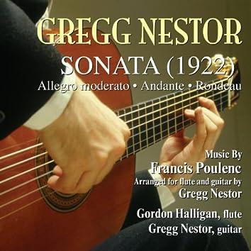Sonata (1922) (feat. Gregg Nestor)