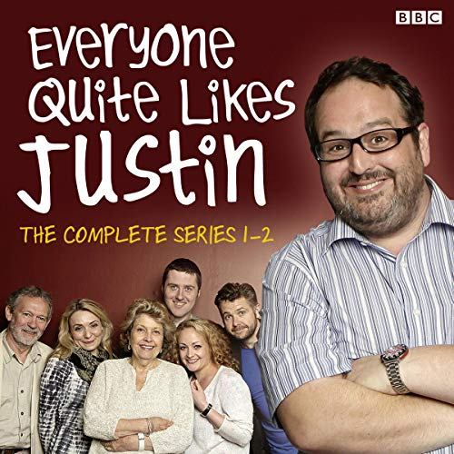 Everyone Quite Likes Justin audiobook cover art