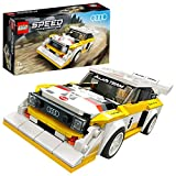 LEGO Speed Champions 1985 Audi Sport Quattro S1, Giocattolo con Minifigura del Pilota, Set da Costruzione di Auto da Corsa, 76897