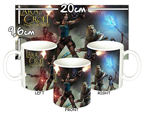 MasTazas Tomb Raider Lara Croft and The Temple of Osiris Tasse Mug