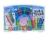 CYP Brands - Set de Actividades Creativas Peppa Pig con 60 Piezas en Blíster, Material Escolar para Niños
