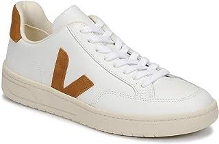 Veja V-12 Leather Extra-White Camel M