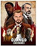 Leinwandbilder Klassischer Film Django Unchained Retro Art