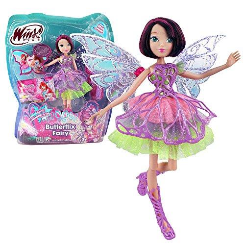 Winx Club - Butterflix Fairy - Tecna Bambola 28cm con magique Robe