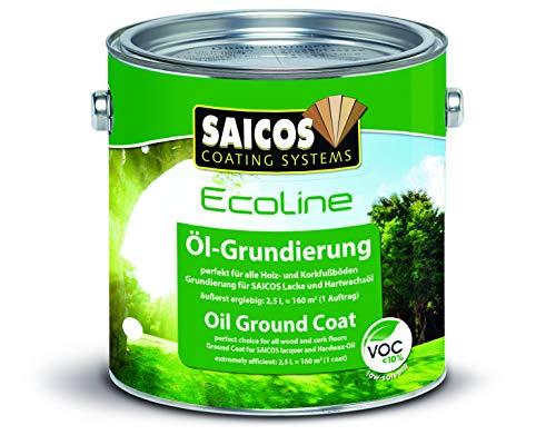 Saicos ECO 500 3409 Ecoline Ecoloine Öl-Grundierung, Weiss transparent