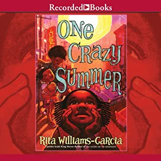 One Crazy Summer audiobook cover art