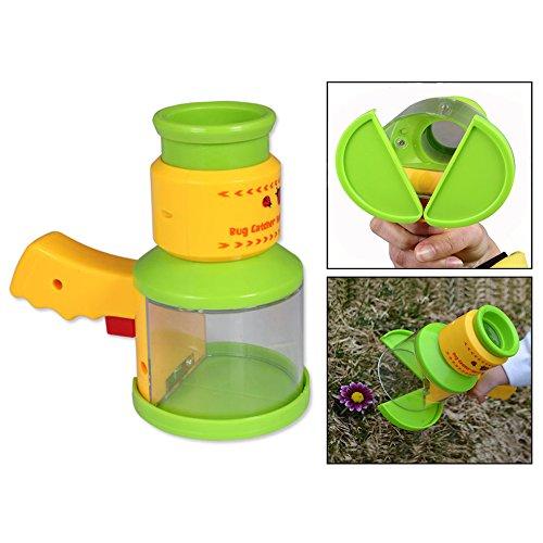 OFKPO Kinder Mikroskop Spielzeug,Insekten Fänger Natürliche Forschung Lernspielzeug