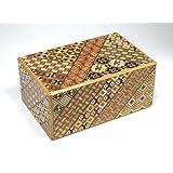 寄木細工 秘密箱27回仕掛け 5寸 小寄木 Japanese Puzzle box 27steps 5sun Koyosegi