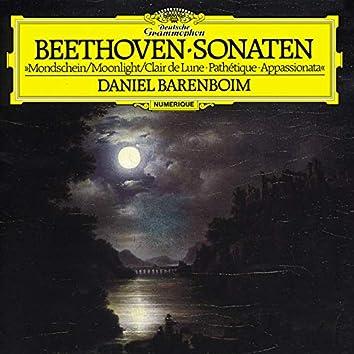 """Beethoven: Piano Sonatas Nos.8 """"Moonlight"""", 14 """"Appassionata"""" & 23 """"Pathétique"""""""