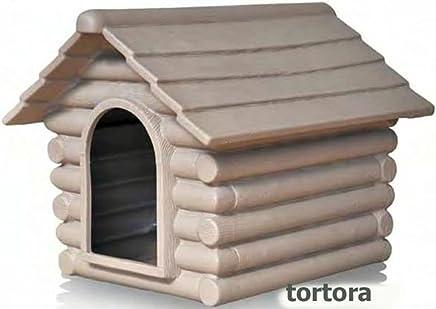Caseta Telcom Rifugio pequeño Pardo 70 x 57 x 53 a casetta para perros [Telcom