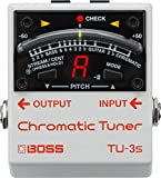 BOSS Guitar Chorus Effects Pedal, White (TU-3S)