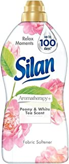 8x Silan Wasverzachter Aromatherapy Pioenroos & Witte Thee 1,375 liter