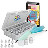 Baker's Dozen Premium Cake Decorating kit 50pcs.Cake Decorating...