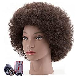 Image of HAIREALM Afro Mannequin...: Bestviewsreviews