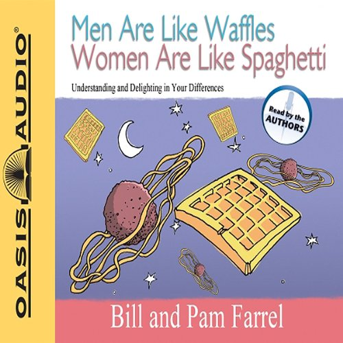 Men Are Like Waffles Women Are Like Spaghetti audiobook cover art