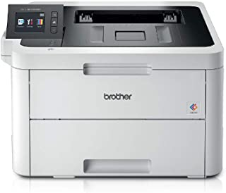 Brother HL-L3270CDW Colour Laser Printer - Single Function, Wireless/USB 2.0/NFC, 2 Sided Printing, A4 Printer, Small Offi...