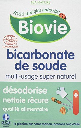 Biovie Bicarbonate de Soude Ménager, 500g