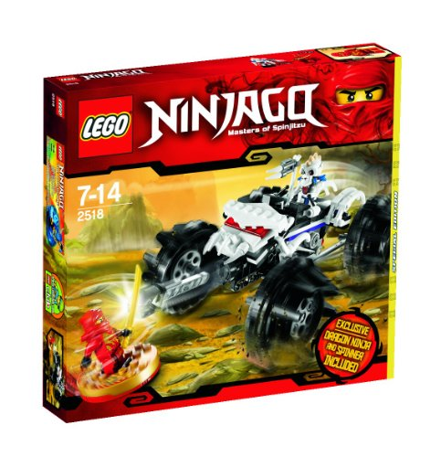 LEGO Ninjago 2518 Spinjitzu Meister mit Ninja Drache und Spinner