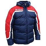 Givova Antartide, Giubbotto Calcio Uomo, Multicolore (Rosso/Blu), M