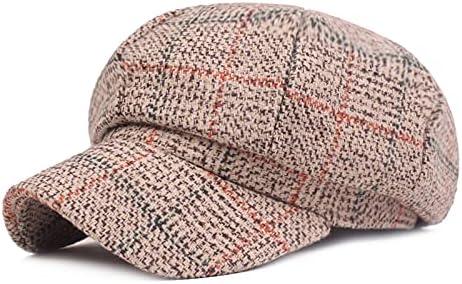 Women Beret Newsboy Cap French Hat for Ladies Classic Autumn Spring Winter Hats 8 Panel Vintage Octagonal Visor Hats