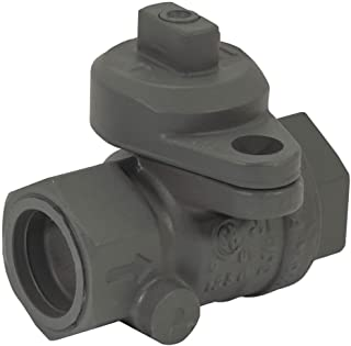 "3/4"" FNPT Brass Gas Ball Valve Inline"