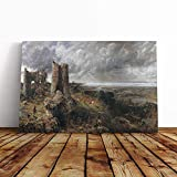 PREMIUM CANVAS PRINT WALL ART – Your chosen image is printed upon high-quality canvas material, tightly stretched over a deep and chunky box frame and finished with a protective coating. ENHANCED COLOUR & PROTECTION – The canvas print is protected ag...