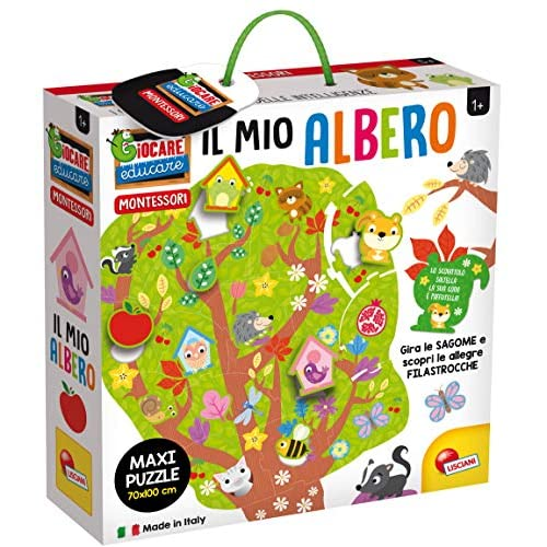 Liscianigiochi Montessori Il Mio Albero Maxi Puzzle, 80144