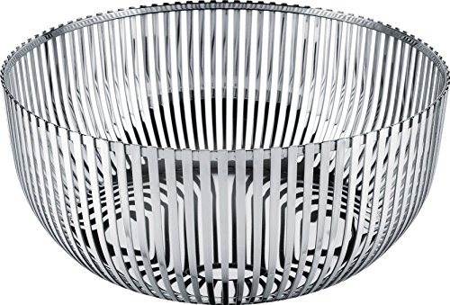 Alessi Fruit Holder in 18/10 Stainless Steel Mirror Polished, Silver