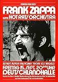 Zappa, Frank - Hot Rats 1972 - Poster Plakat Konzertposter