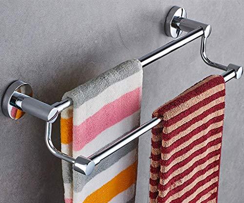BALLYE Toallero retráctil montado en la Pared, toallero Ajustable libremente para una atmósfera Limpia, para Cocina, baño, Inodoro, Oficina de Hotel, Poste Doble 50 cm